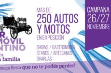 Llega la Fiesta del Primer Automóvil Argentino a Campana