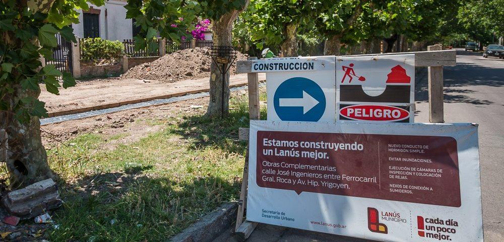Comienza la construcción del Parque Lineal José Ingenieros en Lanús