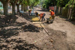 Comienza la construcción del Parque Lineal José Ingenieros en Lanús 1