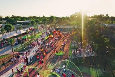 Inauguran el parque más grande de San Fernando