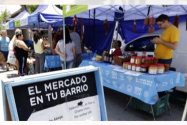 Próximas fechas del Mercado en tu Barrio 1