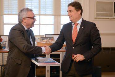 Tigre y Suiza reunidos para mejorar el Plan Estratégico de Gobierno 1