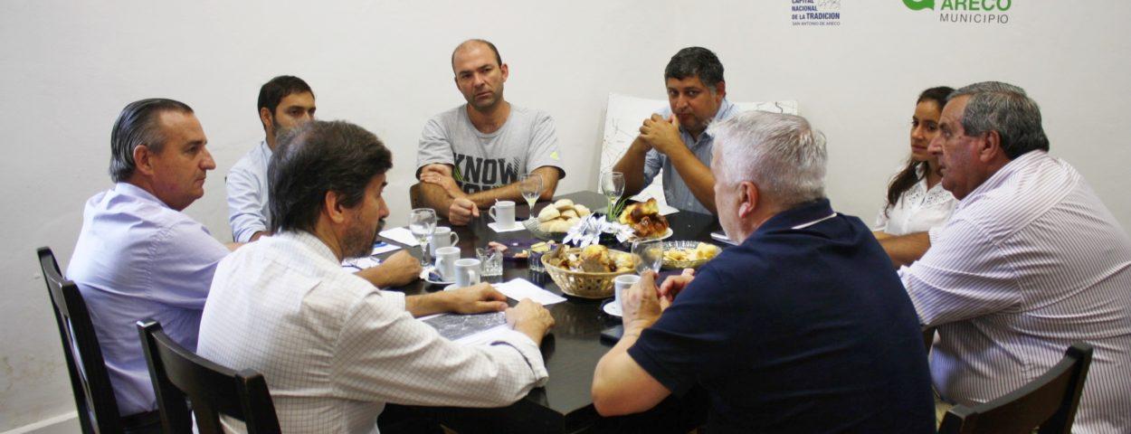 Areco continúa trabajando con la Provincia para mejorar el Sistema de Alerta Temprana