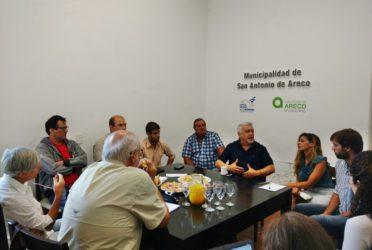 Areco profundiza en mecanismos para prevenir inundaciones
