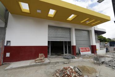 Avanzan las obras del nuevo Centro de Atención Vecinal en Lanús
