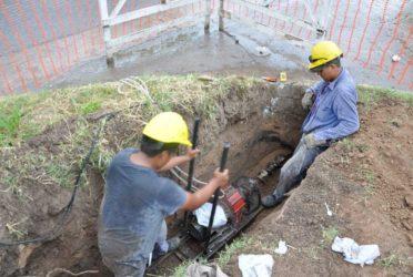 Avanzan las obras de cloacas y agua potable en Cañuelas