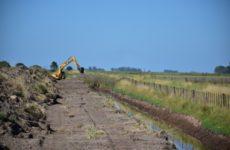 Bolívar lleva adelante la limpieza del Canal Valerga