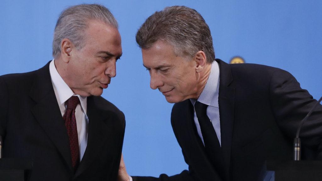 Macri y Temer trabajarán para eliminar barreras y liberar el comercio 2