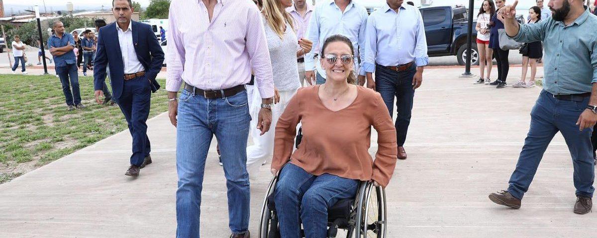 Juan Manuel Urtubey y Gabriela Michetti en Salta