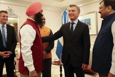 Mauricio Macri se reunió con empresarios en Mumbai