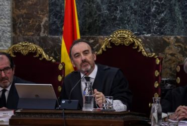 Tribunal Supremo de Madrid juzga a independentistas catalanes