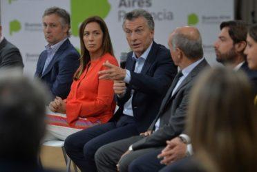Macri estuvo con Vidal en la reunión de gabinete bonaerense